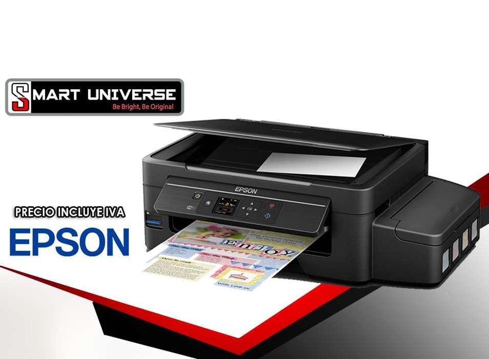 Impresora Epson Et 2550, Eco Tank, Wifi, Tinta Continua