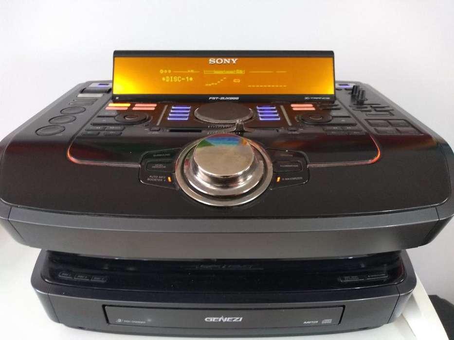 Equipo Sony Genezi Fstzux999