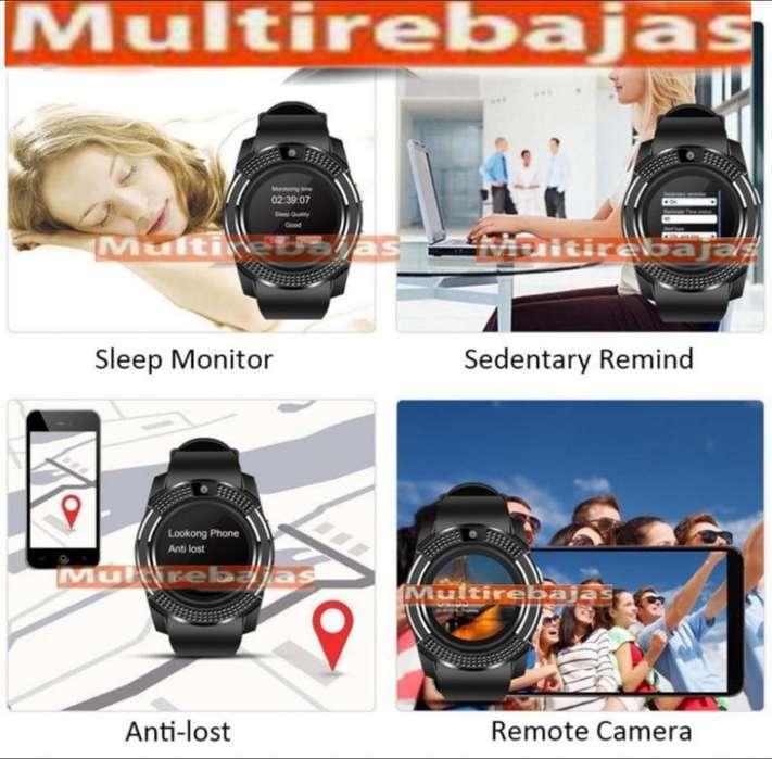 Reloj Deportivo Inteligente Smart Watch V8 2019