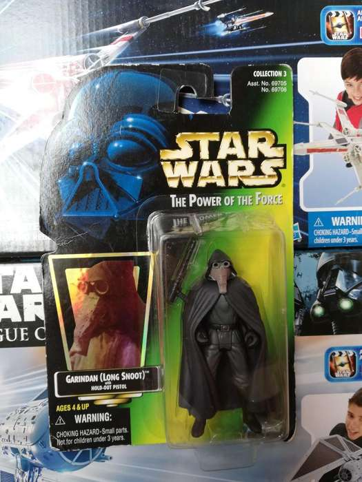 Star Wars The Power Of The Force - Garindan (Long-Snoot ) - Figura Kenner