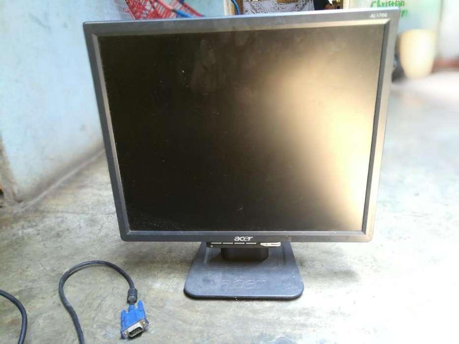 Vendo Monitor Acer de 17 Pulgadas