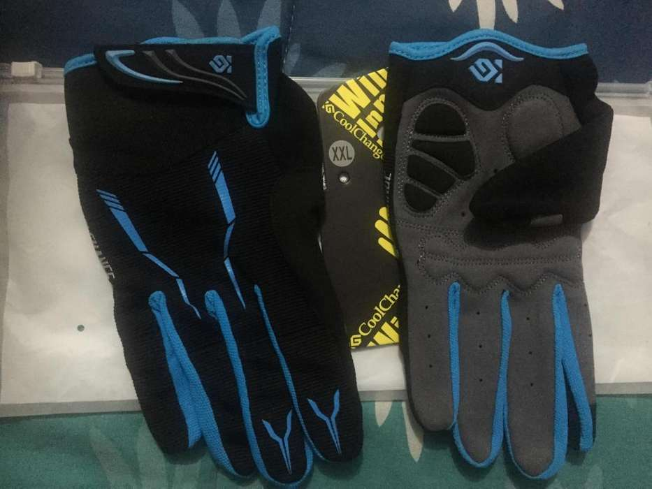 Guantes Cool Change para Mountain Biking Talla L