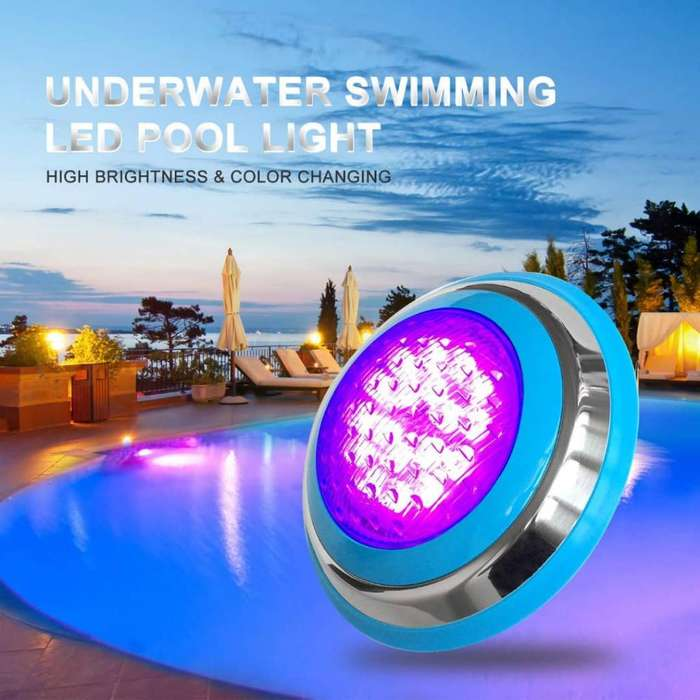 Luces Led Piscina Fuentes Cascadas