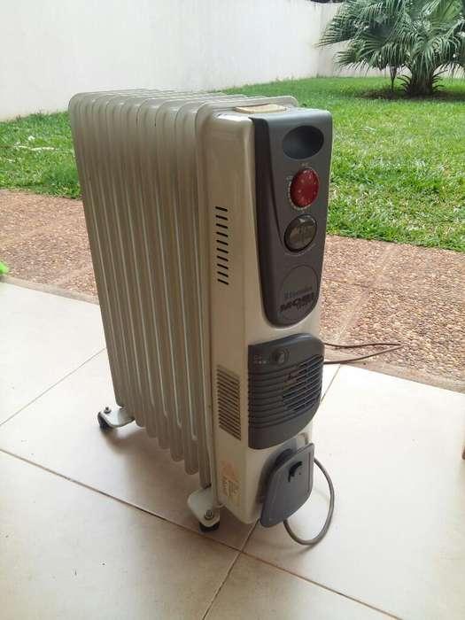 Calefactor <strong>radiador</strong> de 8 Elementos
