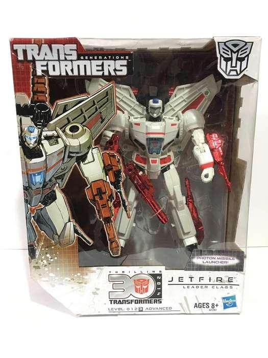 Transformers Jetfire Lider 30 Th