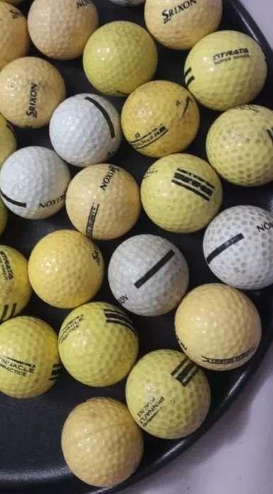 Pelotitas de Golf Srixon (usadas X 100).