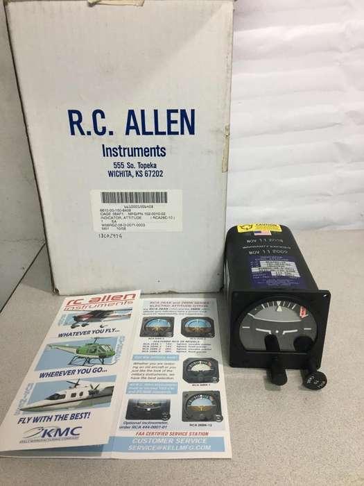 R,c, Allen Indicator Gyro Attitude Rca26c-10