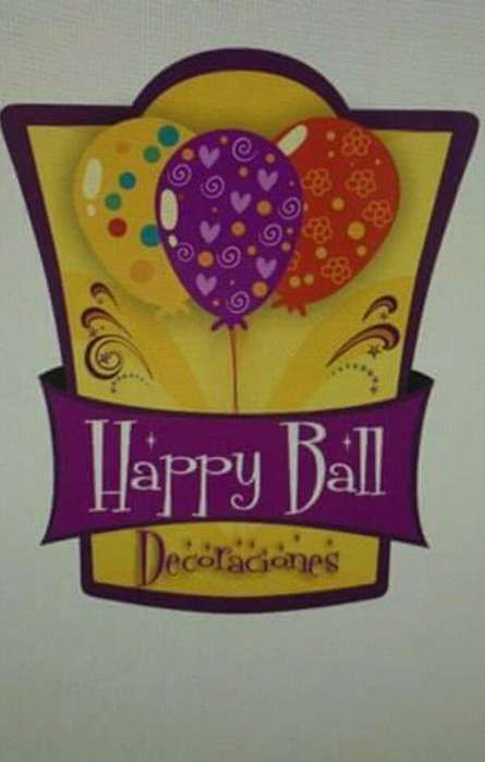 HAPPY BALL!!!DEKORACIONES CON GLOBOS , AL MEJOR PRECIO