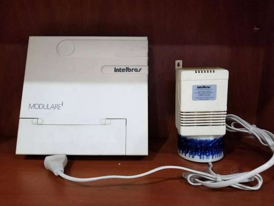 Central telefónica INTELBRAS Modulare I completa
