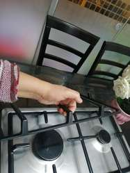 Elegante Cocina Bosch de Acero para Empo
