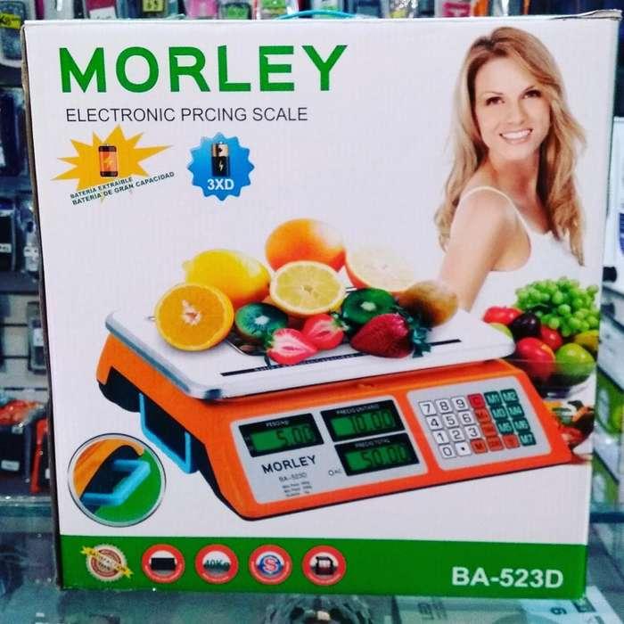 Balanza Comercial Morley 5g a 40kg
