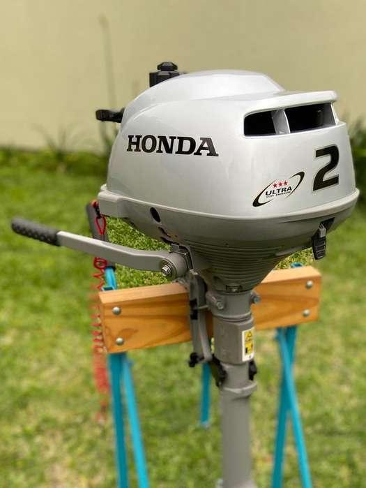 Motor Honda 2 Hp con Carro de Transporte