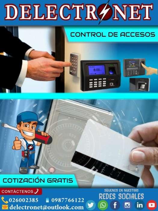 Instalación Control de Accesos Puertas