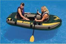 Bote Seahawk Dos Personas Con <strong>accesorio</strong>s Intex