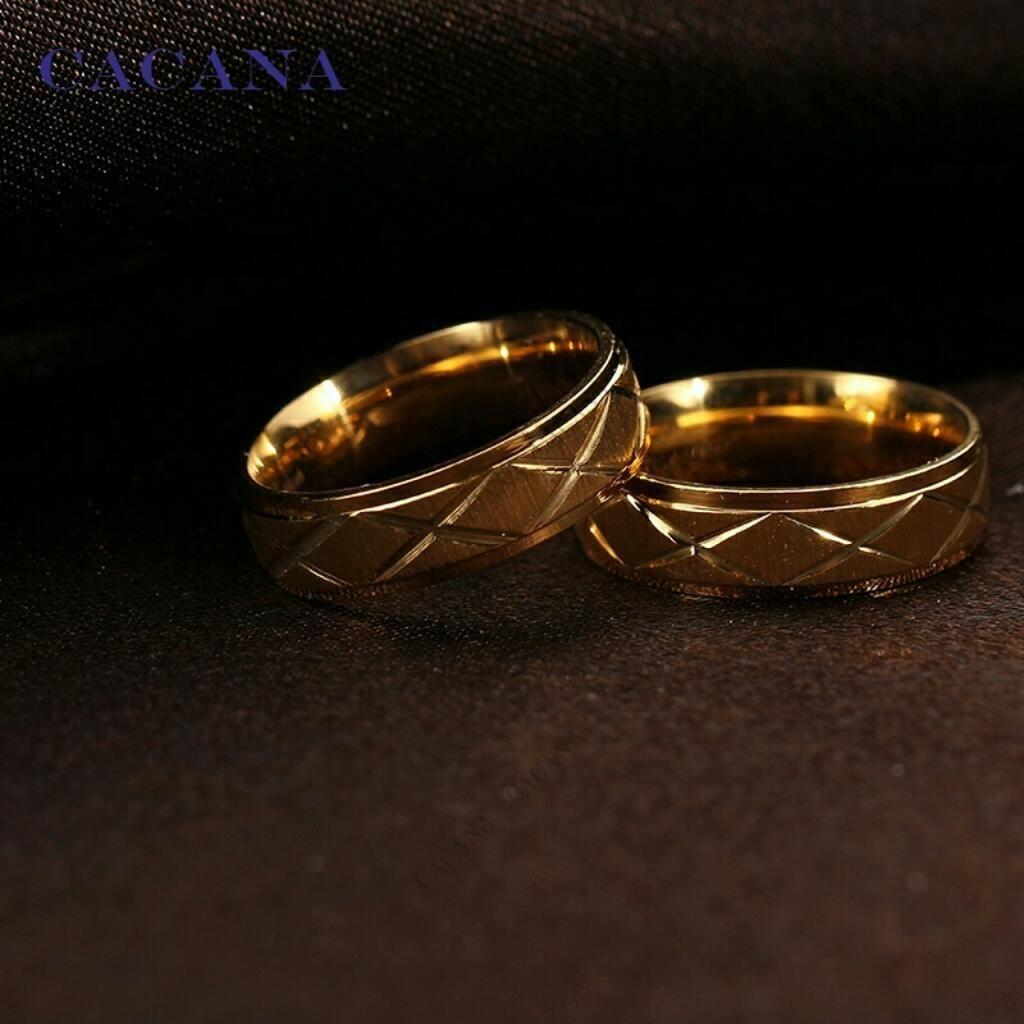 0e1800b73cf5 Aros de Matrimonio Oro 18k Amor Boda Anillos Aniversario Ps4 Celular Joyas  Tv S6