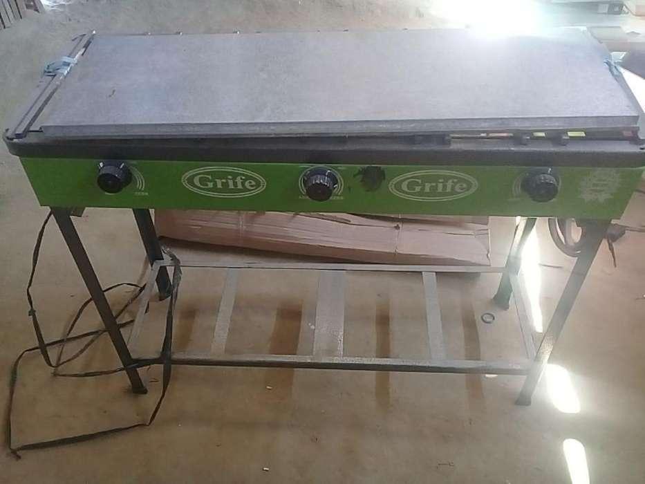 Cocina Industrial 03 Hornillas