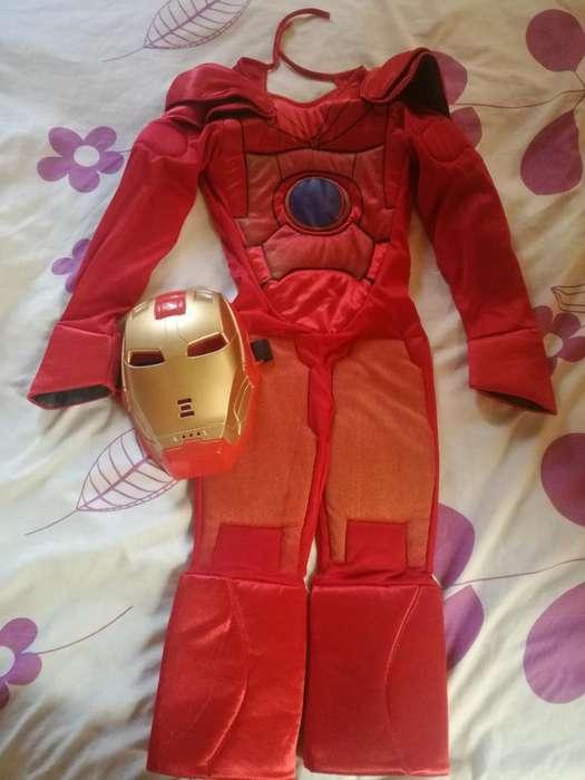 Vendo Disfraz de Ironman Talla 4