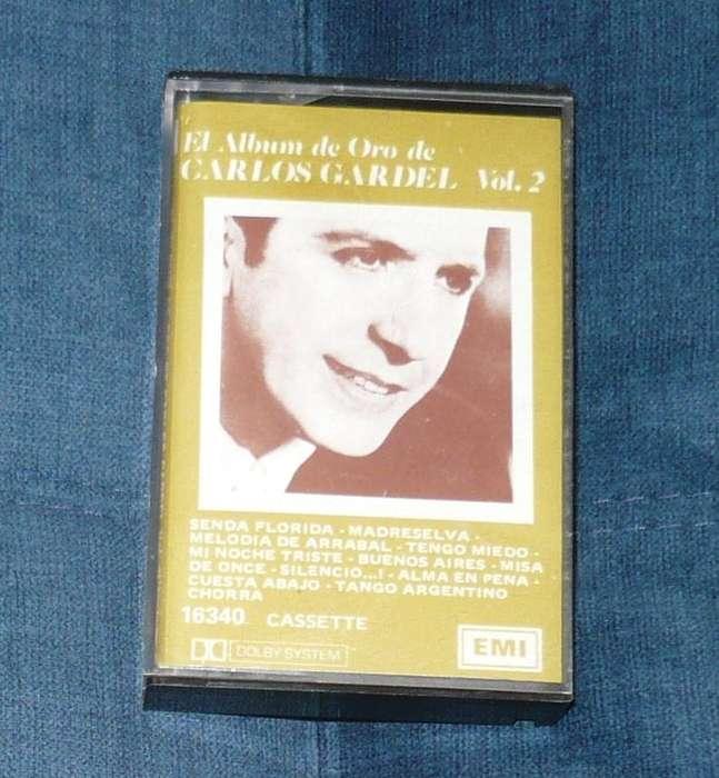 Carlos Gardel El Álbum De Oro Vol 2 Cassette 1981 Tango casete
