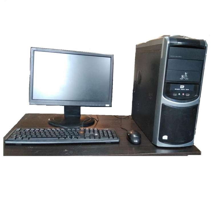 Computador Dual Core 2.0 GHz, RAM 2 GB, 80 Disco Duro, Monitor 17 , Teclado y Mouse.