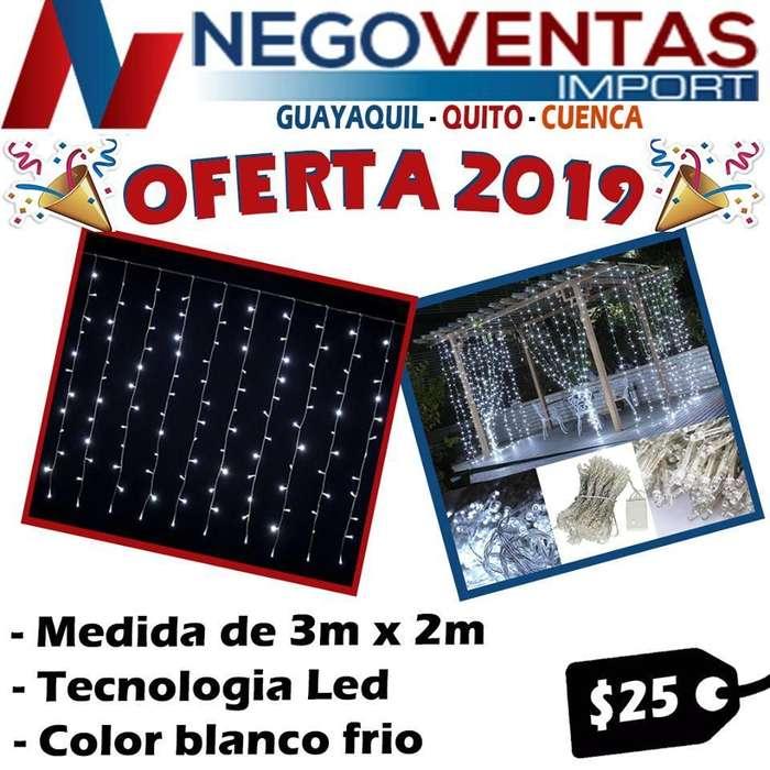 CORTINAS LED PARA DECORACIONES DE OFERTA