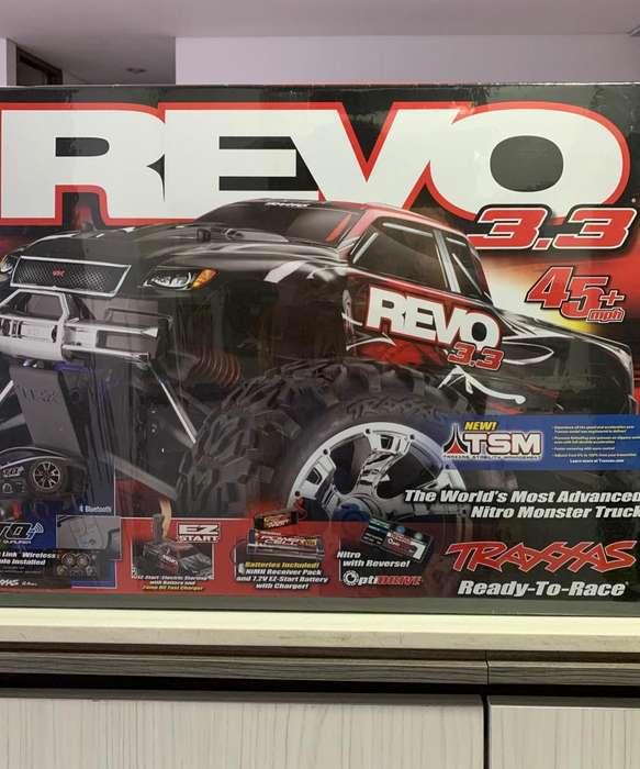 Revo Traxxas 3.3 Rojo Nitro