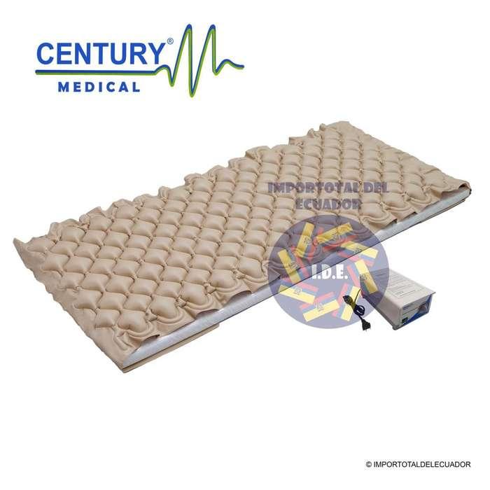 Colchones antiescaras antillagas marca Century Medical ''nuevos'' 1 plaza / uso individual / Incluye motor y accesorios