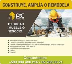 Diseño, remodelación y construcción