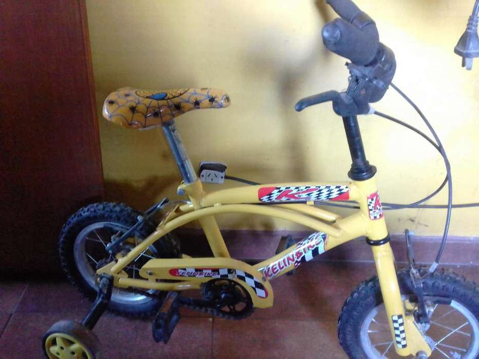 bici rodado 12 playera
