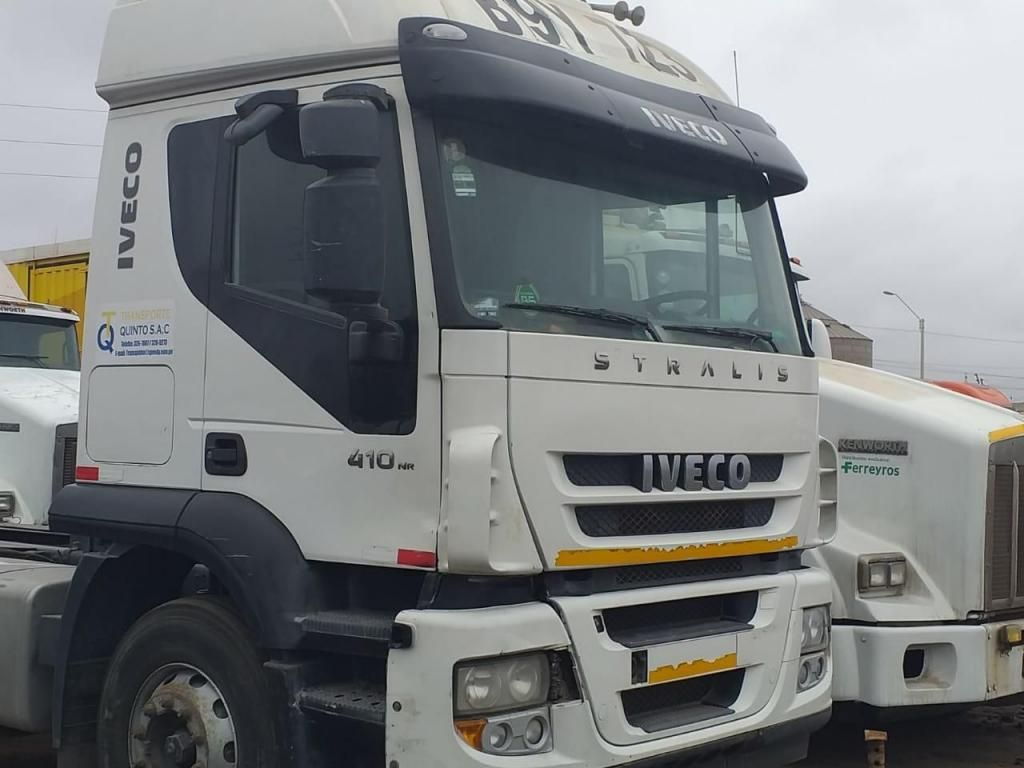 Tracto Camión Remolcador Iveco Stralis NR 2012