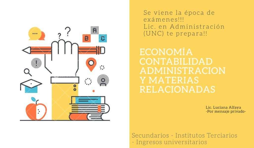 Contabilidad. Economía. Administración.