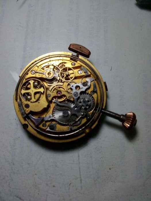 Usado Reloj De Bolsillo Antiguo Angelus