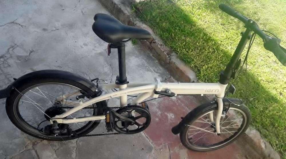 bicicleta tern impecable,19000pesos