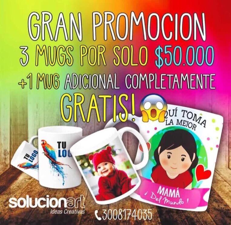 Mugs en Promocion Cartagena