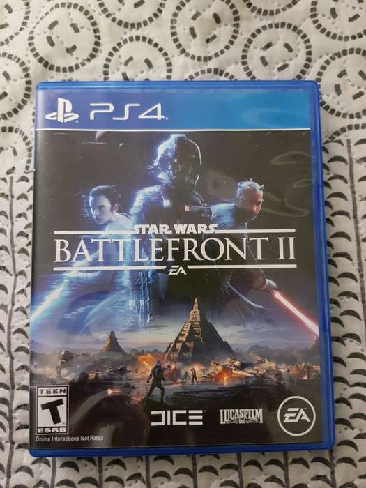 2 Juegosde Ps4 Star Wars: Battlefront Ii
