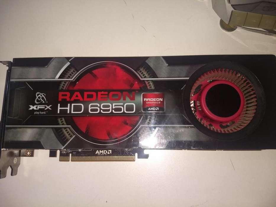 Liquido!! XFX HD6950 2GB DDR5 256BITS