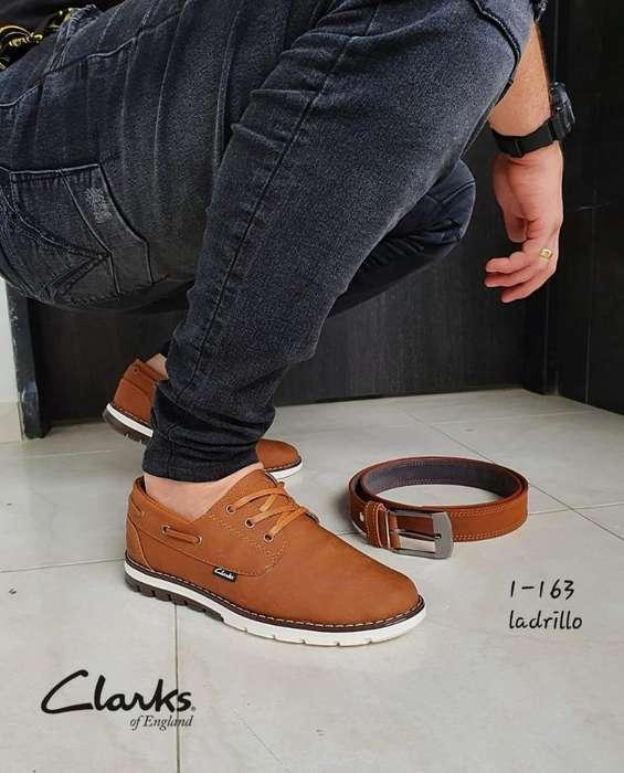 Zapatos Clarks de Hombre con Correa