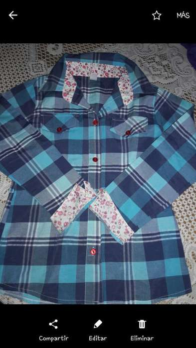 3 Camisas Nena Talle 10 Impecables
