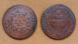 Moneda de 1 real Buenos Ayres, Argentina 1840