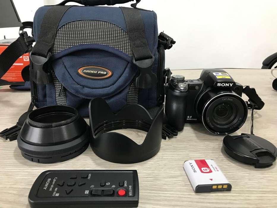 Vendo cámara Semiprofesional Sony Dsc H50 perfecto estado