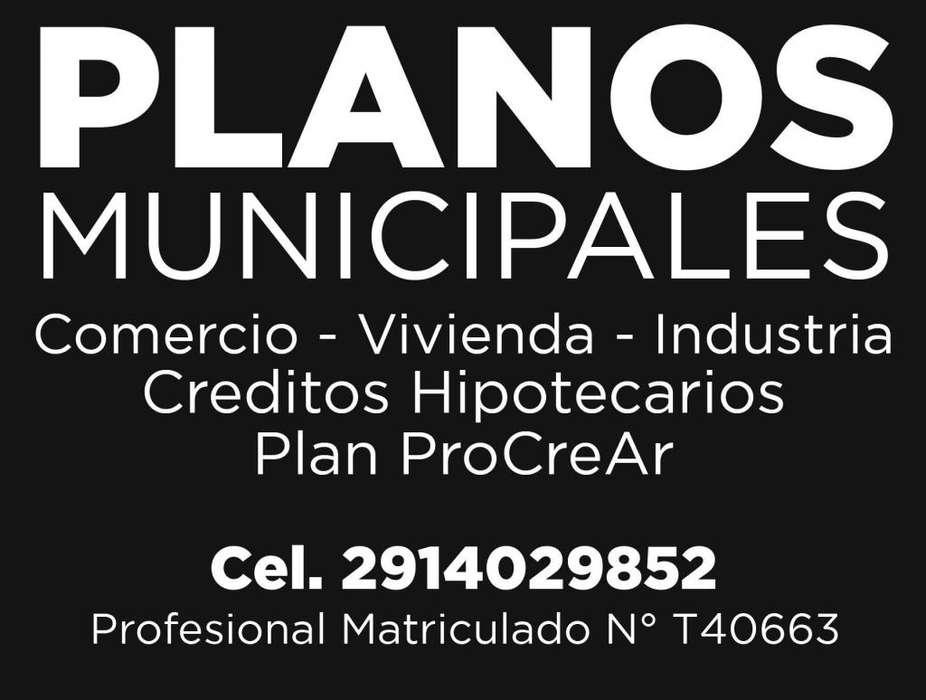 Informe técnico habilitación locales / Planos