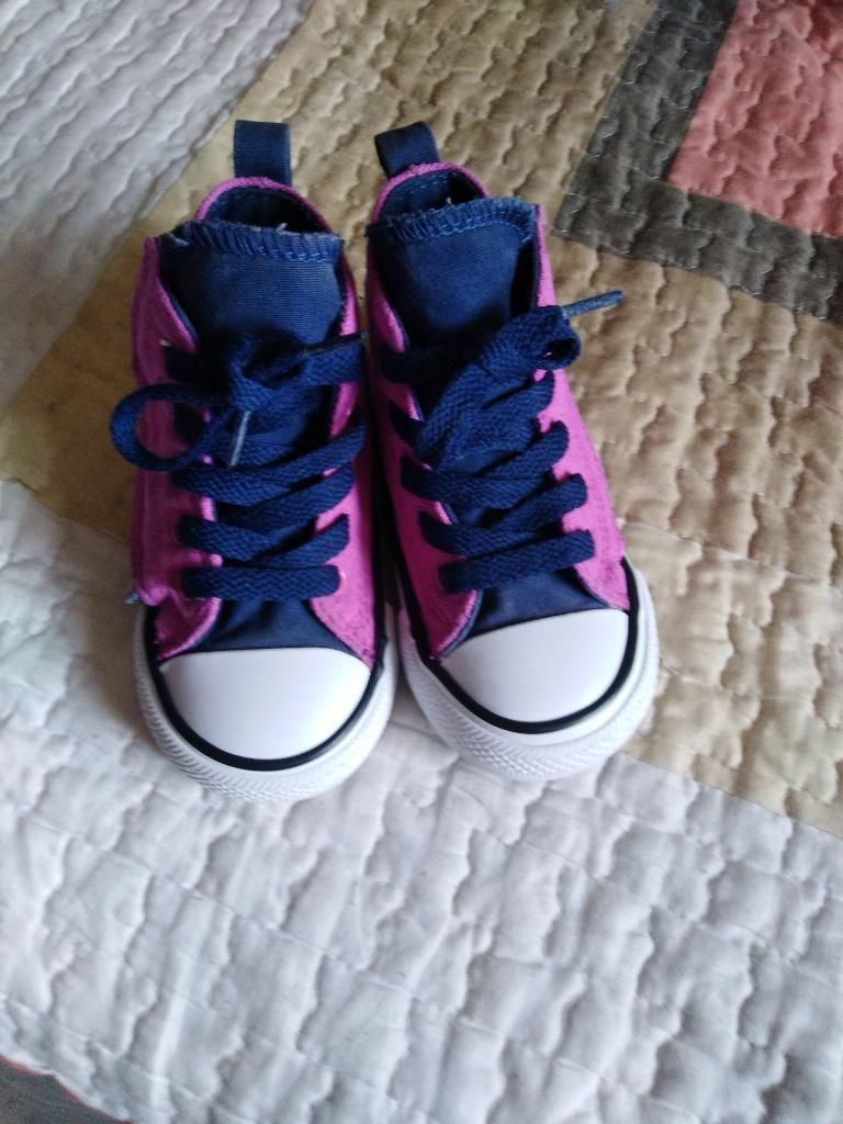 zapatillas converse niña 22