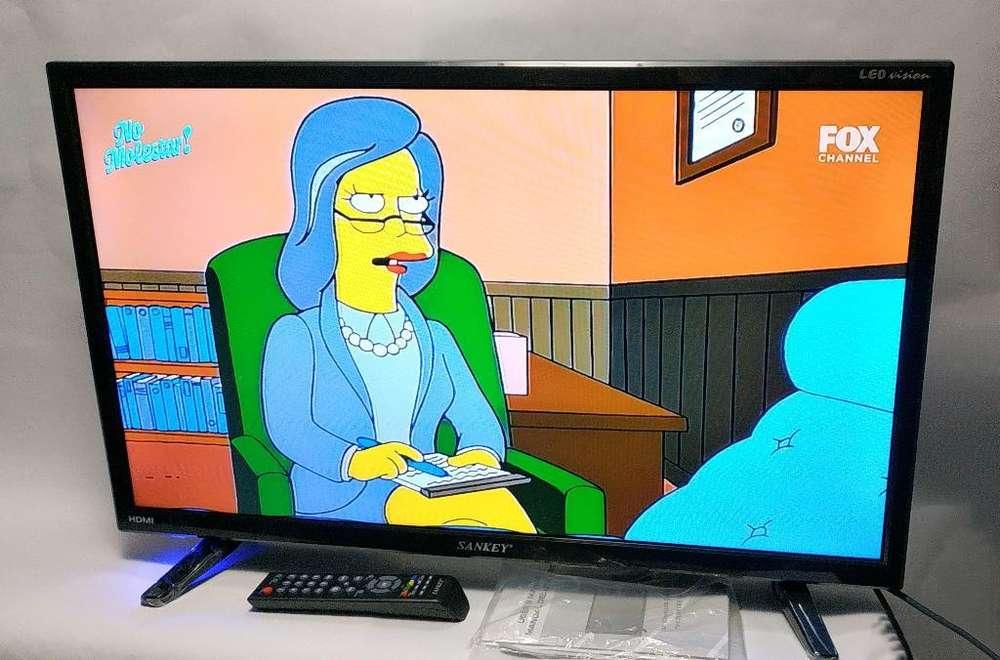 <strong>televisor</strong> Sankey de 32 Pulgadas Poco Uso