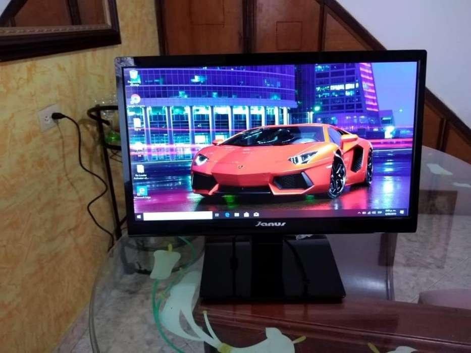 Monitor LED 20 Pulgadas vga hdmi COMO NUEVA!!!
