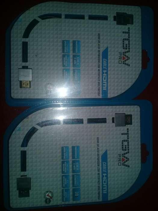 Cable Hdmi de 2 Metros Nuevo en Empaque