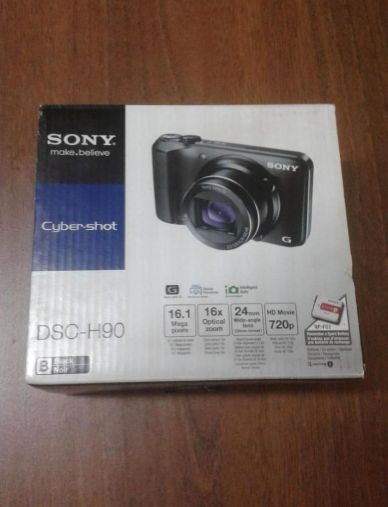 Camara Digital Sony de 16mpx