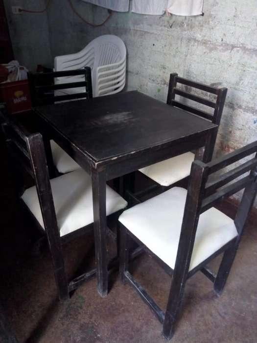 Venta de Mesas Y Sillas para Restaurante
