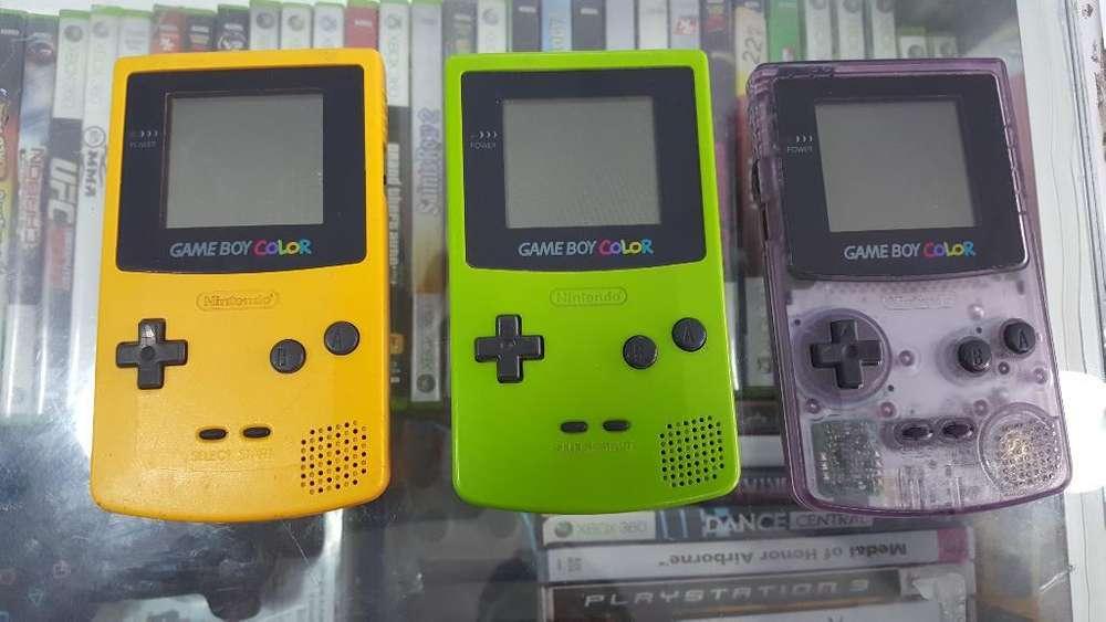 Game Boy Color Originales 90cada Uno
