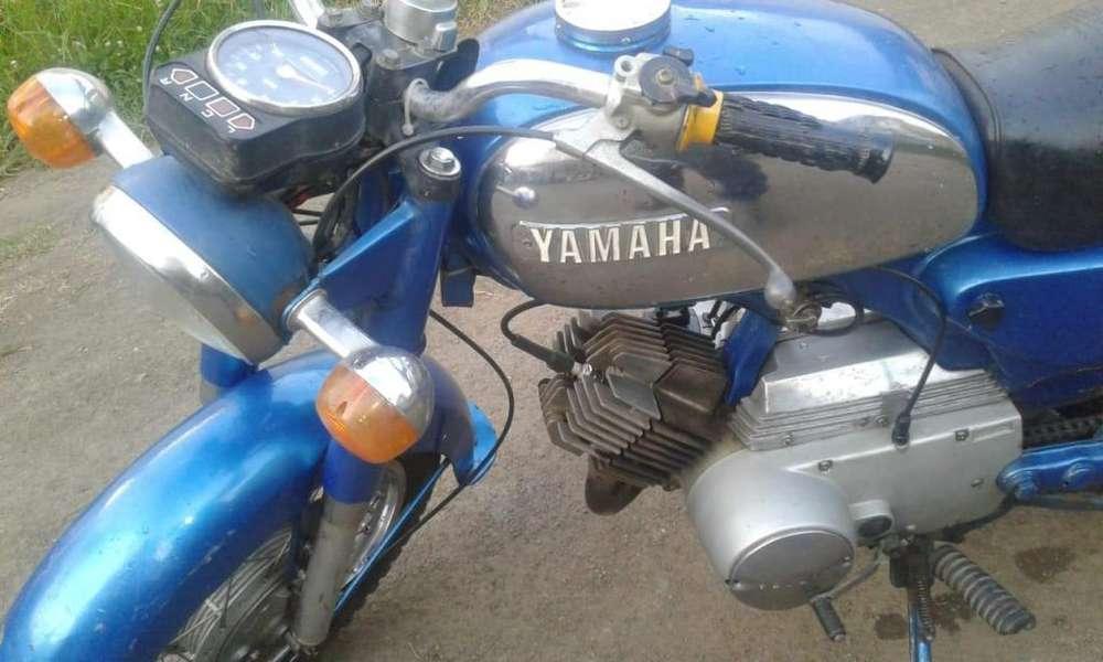 YAMAHA YB 125 AÑO 1980