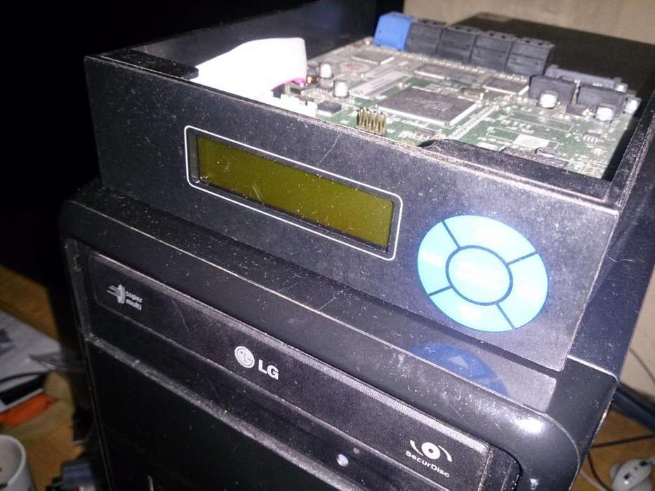 Atum D11 Sata Controlador Duplicadora De Dvd,cd Sata 1011