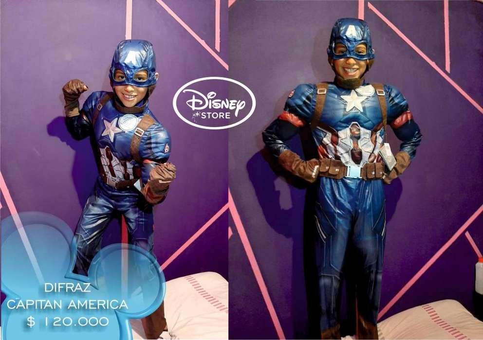 Disfraz Capitan America Original de Disney